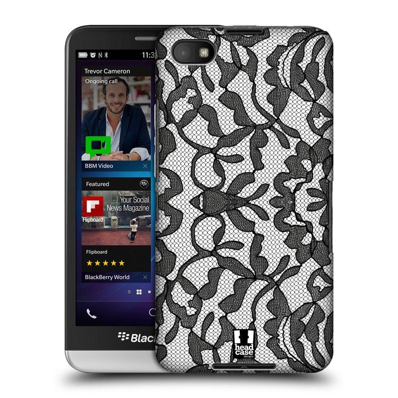 Plastové pouzdro na mobil Blackberry Z30 HEAD CASE LEAFY KRAJKA (Kryt či obal na mobilní telefon Blackberry Z30)