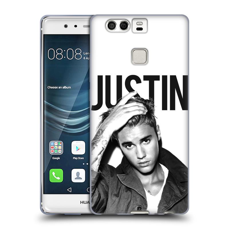 Silikonové pouzdro na mobil Huawei P9 HEAD CASE Justin Bieber Official - Póza (Silikonový kryt či obal na mobilní telefon s licencovaným motivem Justin Bieber pro Huawei P9)