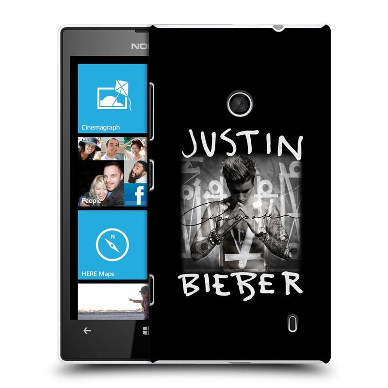 Plastové pouzdro na mobil Nokia Lumia 520 HEAD CASE Justin Bieber Official - Purpose (Kryt či obal na mobilní telefon s licencovaným motivem Justin Bieber pro Nokia Lumia 520 )