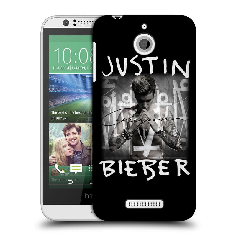 Plastové pouzdro na mobil HTC Desire 510 HEAD CASE Justin Bieber Official - Purpose (Kryt či obal na mobilní telefon s licencovaným motivem Justin Bieber pro HTC Desire 510)