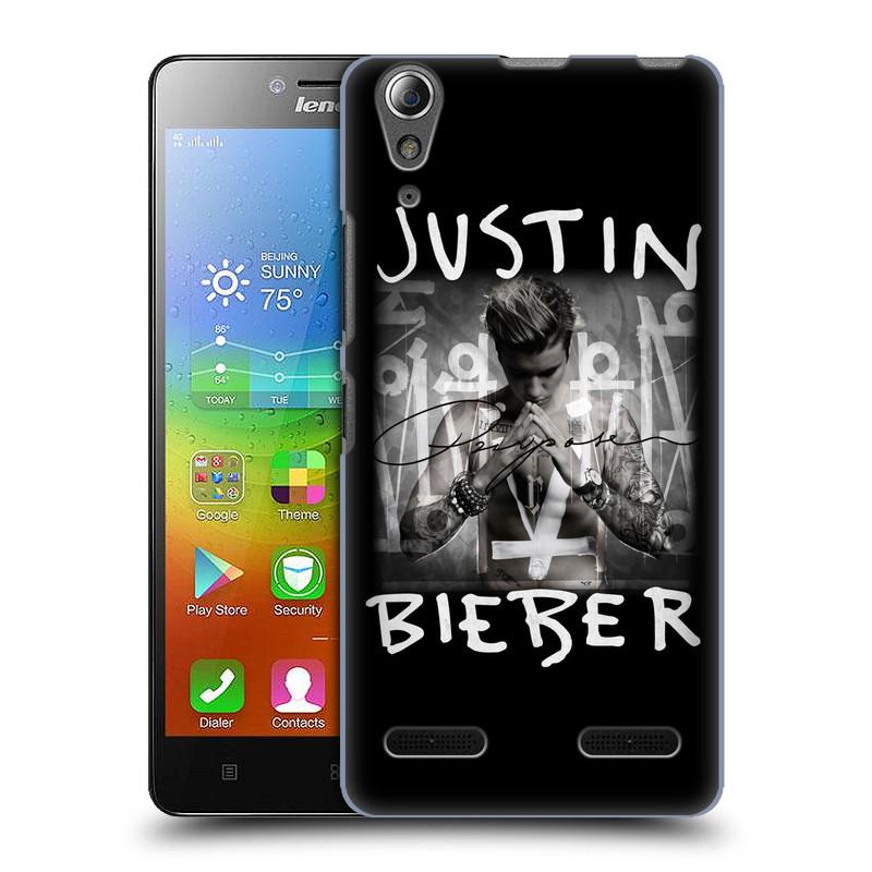 Plastové pouzdro na mobil Lenovo A6000 HEAD CASE Justin Bieber - Purpose (Kryt či obal na mobilní telefon s licencovaným motivem Justin Bieber pro Lenovo A6000)