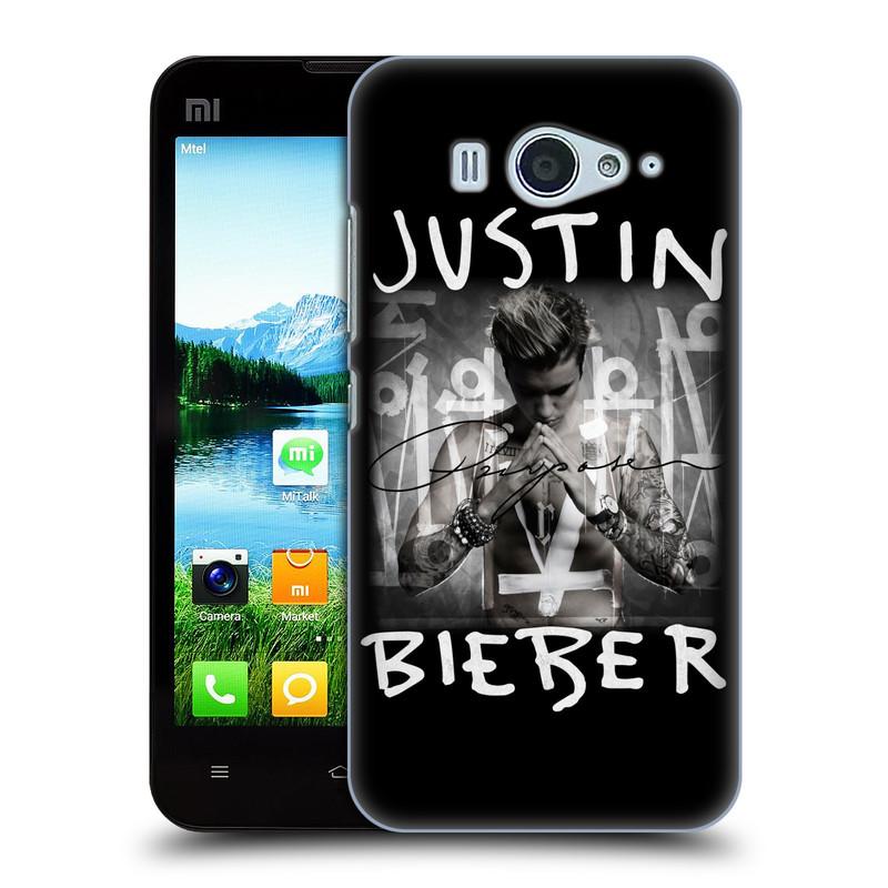 Plastové pouzdro na mobil Xiaomi Mi2S HEAD CASE Justin Bieber Official - Purpose (Kryt či obal na mobilní telefon s licencovaným motivem Justin Bieber pro Xiaomi Mi2S)