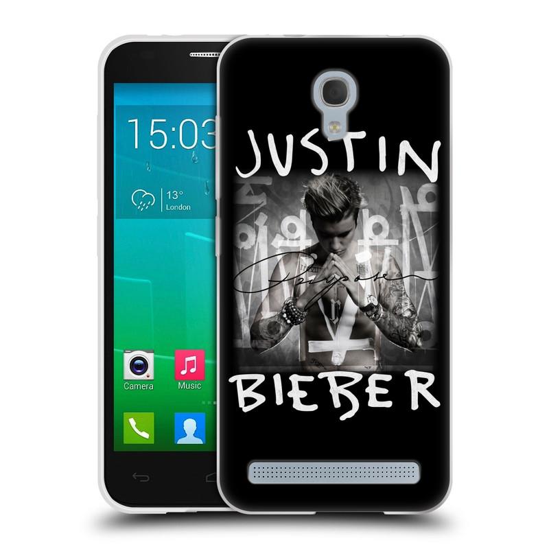 Silikonové pouzdro na mobil Alcatel One Touch Idol 2 Mini S 6036Y HEAD CASE Justin Bieber Official - Purpose (Silikonový kryt či obal na mobilní telefon s licencovaným motivem Justin Bieber pro Alcatel Idol 2 Mini S OT-6036Y)
