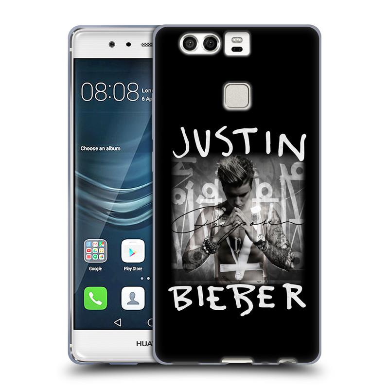 Silikonové pouzdro na mobil Huawei P9 HEAD CASE Justin Bieber Official - Purpose (Silikonový kryt či obal na mobilní telefon s licencovaným motivem Justin Bieber pro Huawei P9)