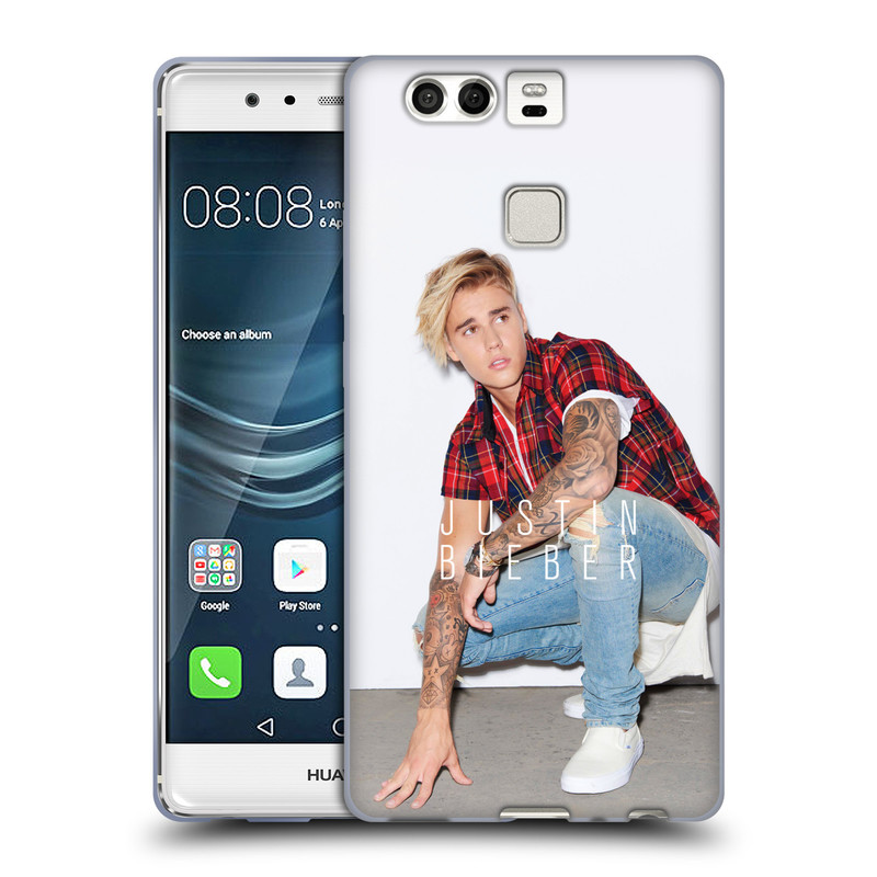 Silikonové pouzdro na mobil Huawei P9 HEAD CASE Justin Bieber Official - V pokleku (Silikonový kryt či obal na mobilní telefon s licencovaným motivem Justin Bieber pro Huawei P9)