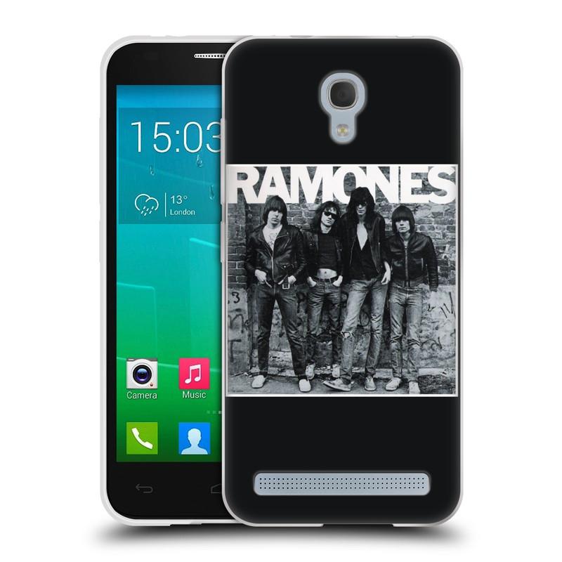 Silikonové pouzdro na mobil Alcatel One Touch Idol 2 Mini S 6036Y HEAD CASE The Ramones - ALBUM (Silikonový kryt či obal na mobilní telefon s oficiálním licencovaným motivem The Ramones pro Alcatel Idol 2 Mini S OT-6036Y)