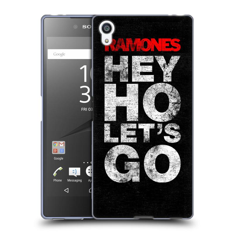 Silikonové pouzdro na mobil Sony Xperia Z5 Premium HEAD CASE The Ramones - HEY HO LET´S GO (Silikonový kryt či obal na mobilní telefon s oficiálním licencovaným motivem The Ramones pro Sony Xperia Z5 Premium E6853)