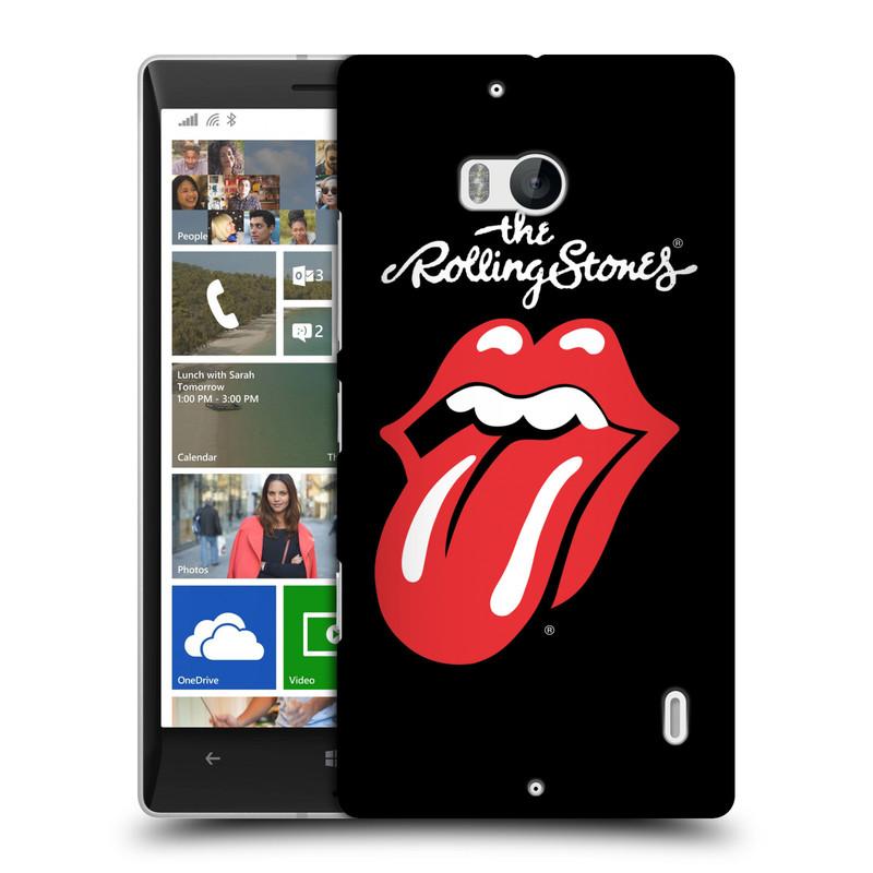 Plastové pouzdro na mobil Nokia Lumia 930 HEAD CASE The Rolling Stones - Classic Lick (Plastový kryt či obal The Rolling Stones Official na mobilní telefon Nokia Lumia 930)