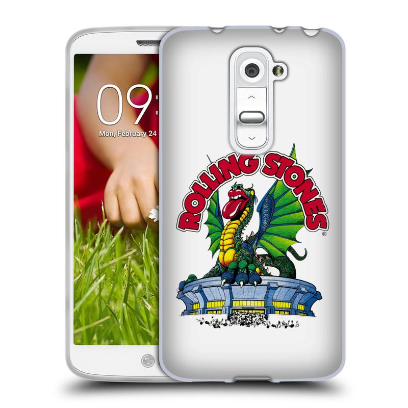 Silikonové pouzdro na mobil LG G2 Mini HEAD CASE The Rolling Stones - Dragon (Silikonový kryt či obal The Rolling Stones Official na mobilní telefon LG G2 Mini D620)