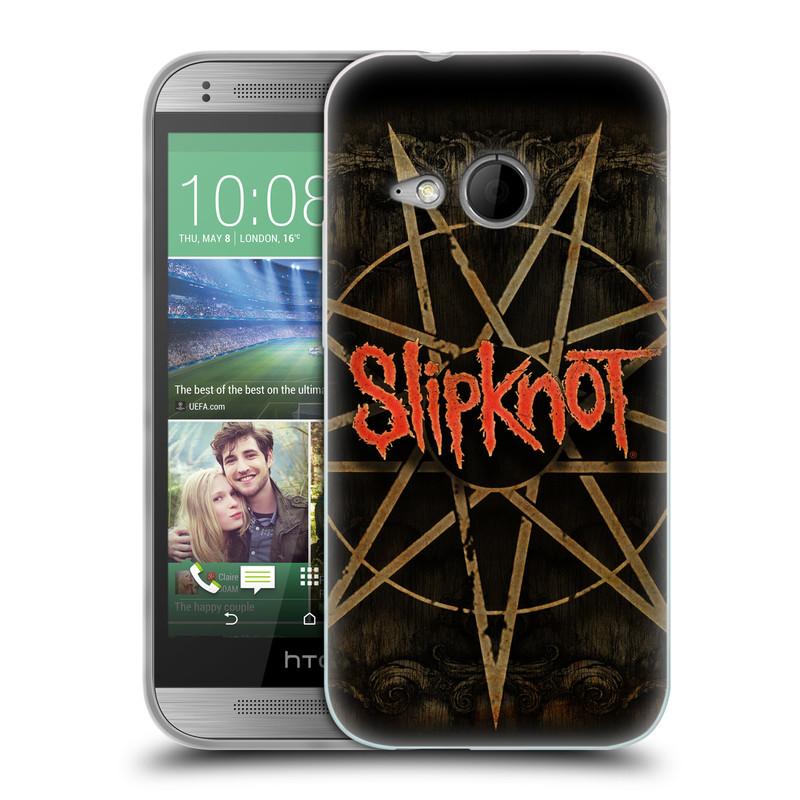 Silikonové pouzdro na mobil HTC ONE Mini 2 HEAD CASE Slipknot - Znak (Silikonový kryt či obal na mobilní telefon licencovaným motivem Slipknot pro HTC ONE Mini 2)