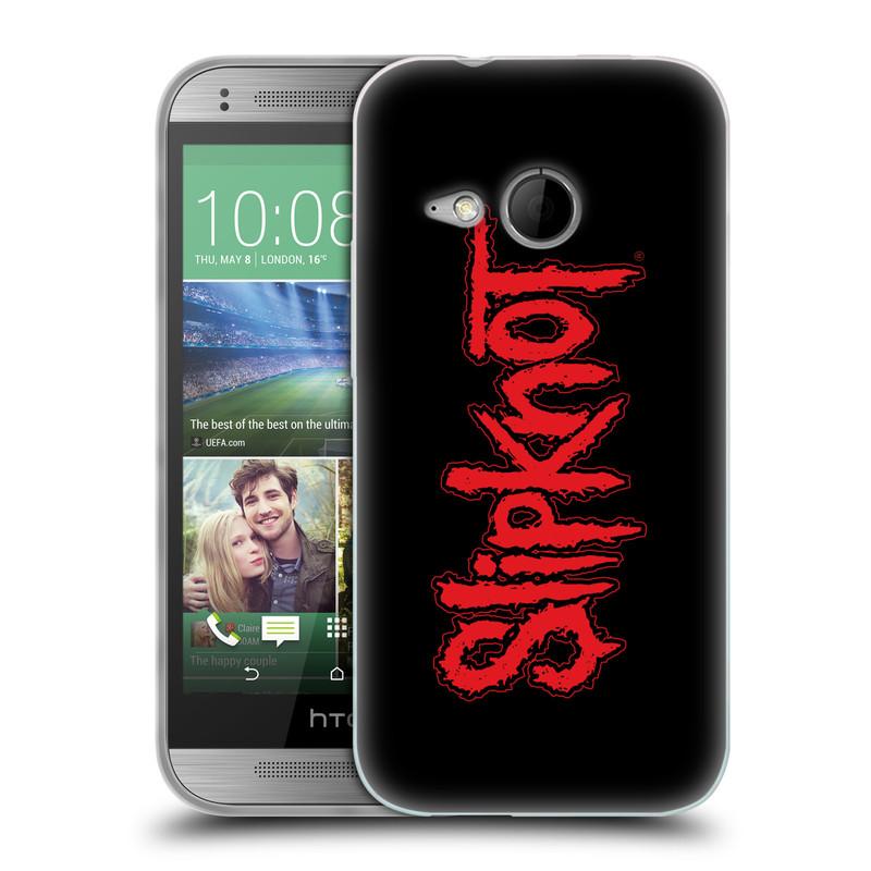 Silikonové pouzdro na mobil HTC ONE Mini 2 HEAD CASE Slipknot - Logo (Silikonový kryt či obal na mobilní telefon licencovaným motivem Slipknot pro HTC ONE Mini 2)