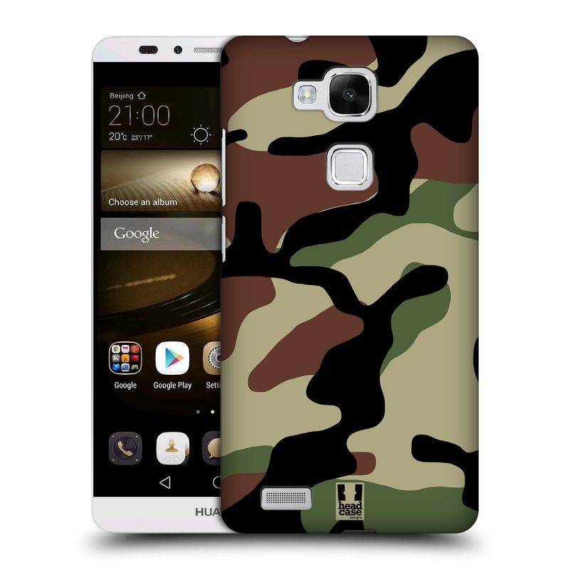 Plastové pouzdro na mobil Huawei Ascend Mate 7 HEAD CASE Maskáče (Kryt či obal na mobilní telefon Huawei Ascend Mate7)