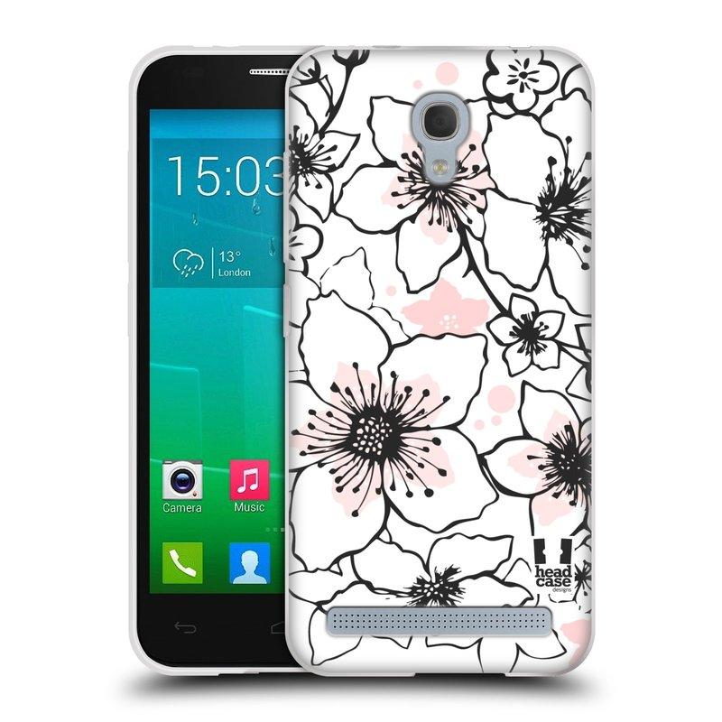 Silikonové pouzdro na mobil Alcatel One Touch Idol 2 Mini S 6036Y HEAD CASE BLOSSOMS SPRINGTIME (Silikonový kryt či obal na mobilní telefon Alcatel Idol 2 Mini S OT-6036Y)
