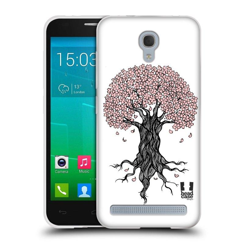 Silikonové pouzdro na mobil Alcatel One Touch Idol 2 Mini S 6036Y HEAD CASE BLOSSOMS TREE (Silikonový kryt či obal na mobilní telefon Alcatel Idol 2 Mini S OT-6036Y)