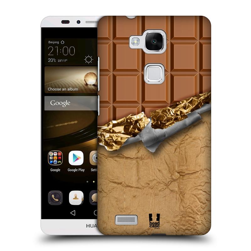 Plastové pouzdro na mobil Huawei Ascend Mate 7 HEAD CASE ČOKOFOILED (Kryt či obal na mobilní telefon Huawei Ascend Mate7)