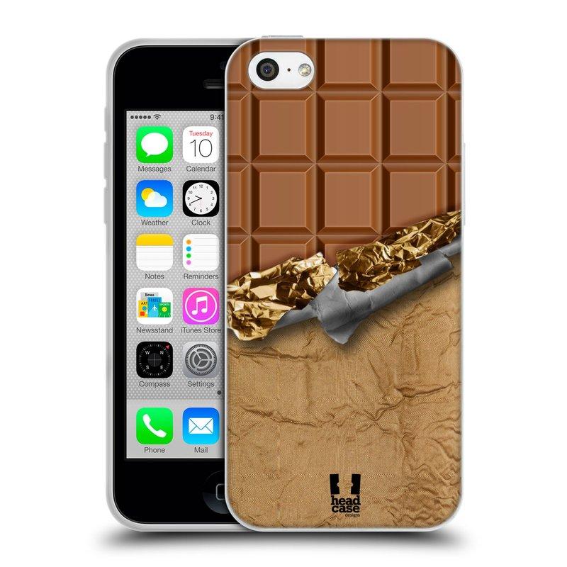 Silikonové pouzdro na mobil Apple iPhone 5C HEAD CASE ČOKOFOILED (Silikonový kryt či obal na mobilní telefon Apple iPhone 5C)