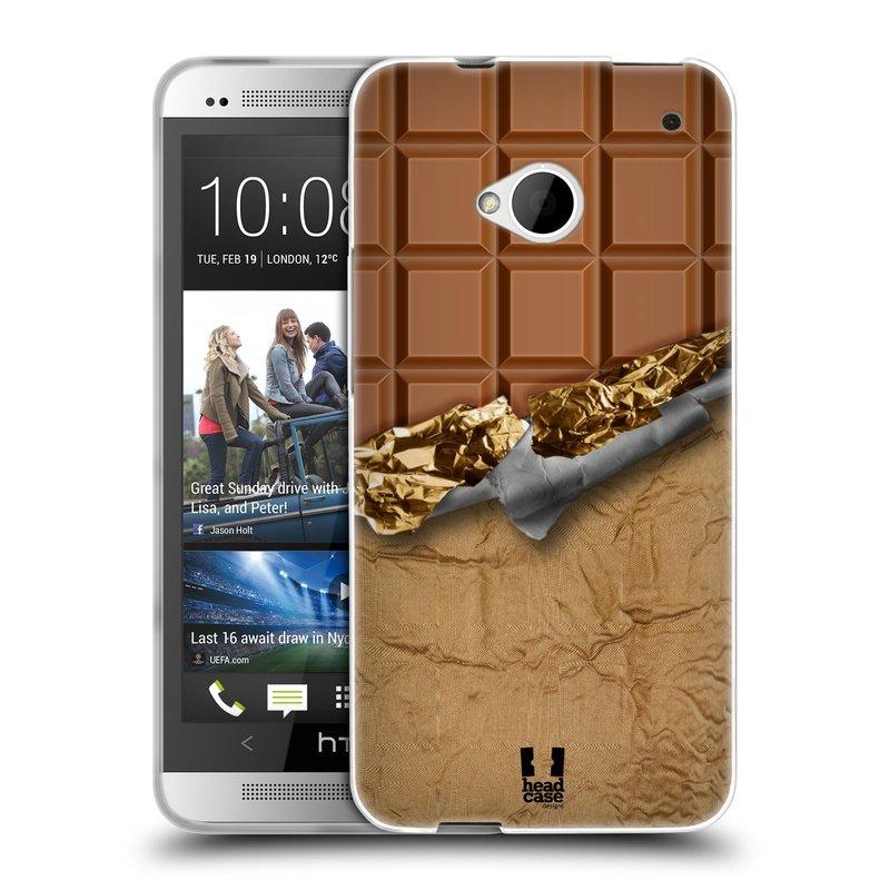 Silikonové pouzdro na mobil HTC ONE M7 HEAD CASE ČOKOFOILED (Silikonový kryt či obal na mobilní telefon HTC ONE M7)