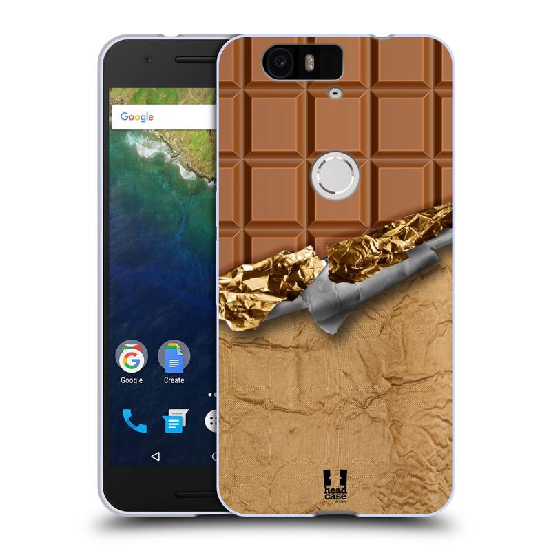 Silikonové pouzdro na mobil Huawei Nexus 6P HEAD CASE ČOKOFOILED (Silikonový kryt či obal na mobilní telefon Huawei Nexus 6P)