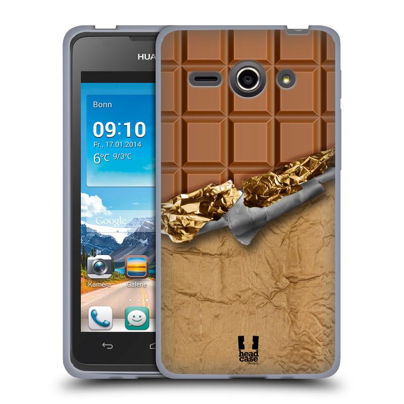 Silikonové pouzdro na mobil Huawei Ascend Y530 HEAD CASE ČOKOFOILED (Silikonový kryt či obal na mobilní telefon Huawei Ascend Y530)