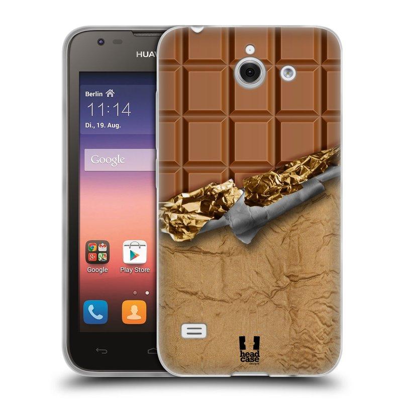 Silikonové pouzdro na mobil Huawei Ascend Y550 HEAD CASE ČOKOFOILED (Silikonový kryt či obal na mobilní telefon Huawei Ascend Y550)
