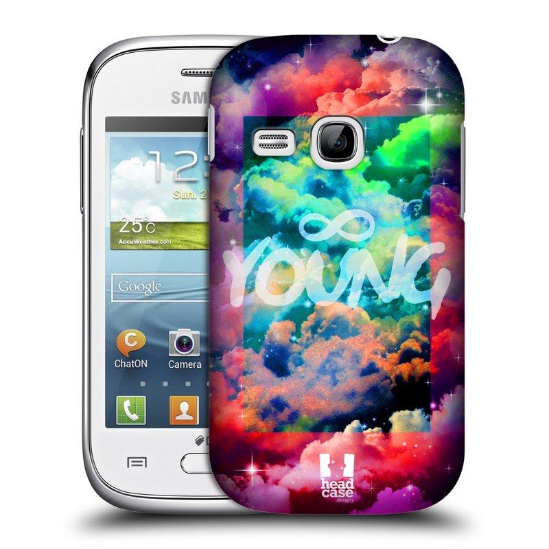Plastové pouzdro na mobil Samsung Galaxy Young HEAD CASE CHROMATIC YOUNG (Kryt či obal na mobilní telefon Samsung Galaxy Young GT-S6310)