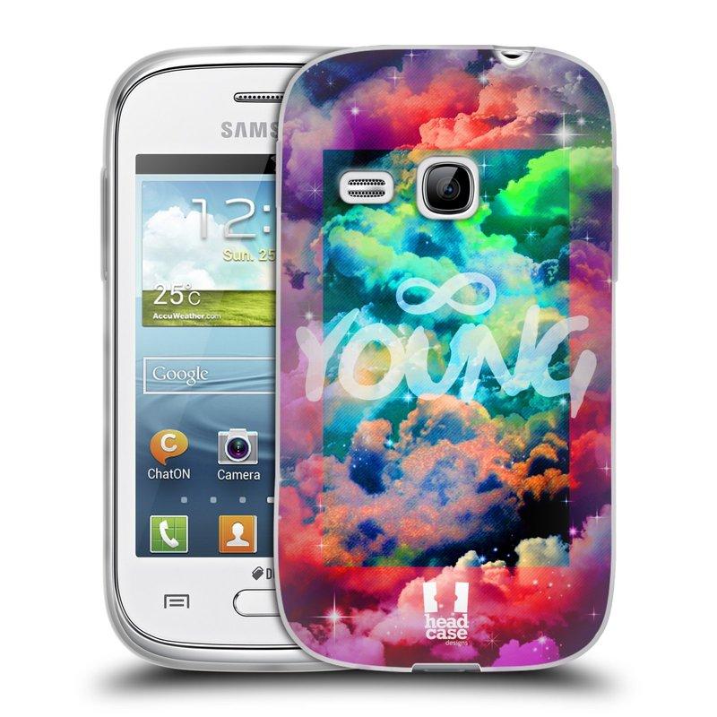 Silikonové pouzdro na mobil Samsung Galaxy Young HEAD CASE CHROMATIC YOUNG (Silikonový kryt či obal na mobilní telefon Samsung Galaxy Young GT-S6310)