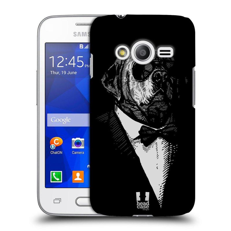 Plastové pouzdro na mobil Samsung Galaxy Trend 2 Lite HEAD CASE PSISKO V KVÁDRU (Kryt či obal na mobilní telefon Samsung Galaxy Trend 2 Lite SM-G318)