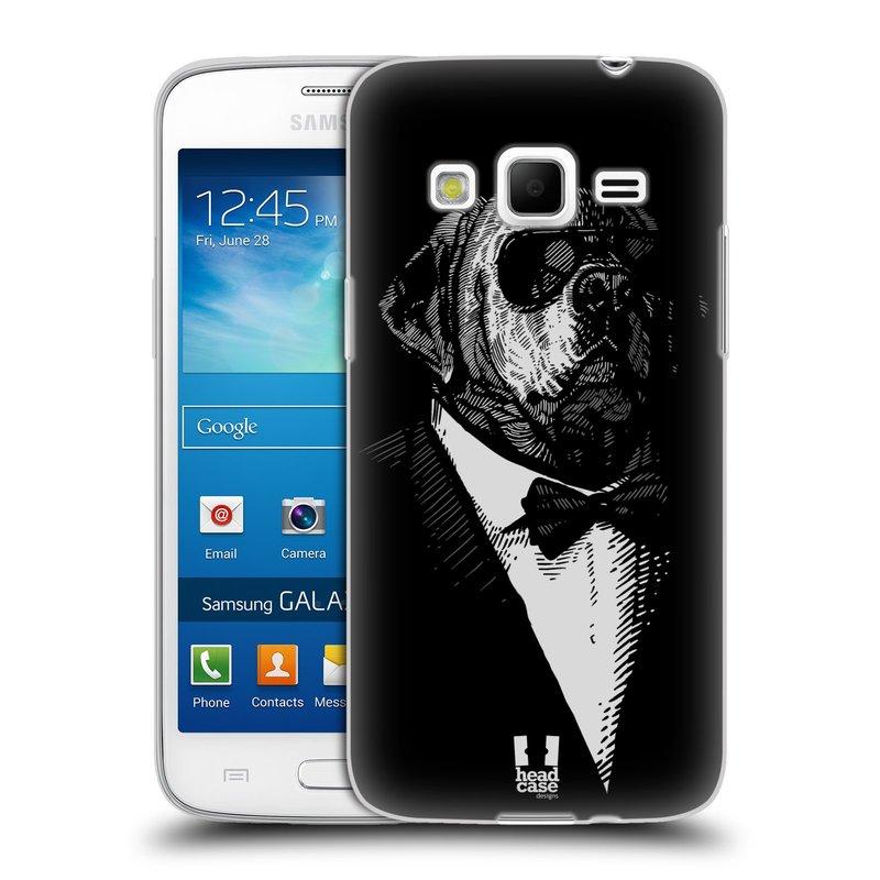 Silikonové pouzdro na mobil Samsung Galaxy Express 2 HEAD CASE PSISKO V KVÁDRU (Silikonový kryt či obal na mobilní telefon Samsung Galaxy Express 2 SM-G3815)
