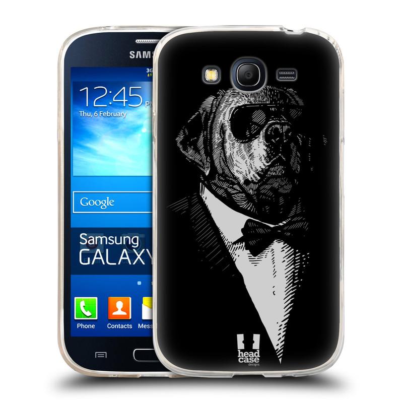Silikonové pouzdro na mobil Samsung Galaxy Grand Neo HEAD CASE PSISKO V KVÁDRU (Silikonový kryt či obal na mobilní telefon Samsung Galaxy Grand Neo GT-I9060)