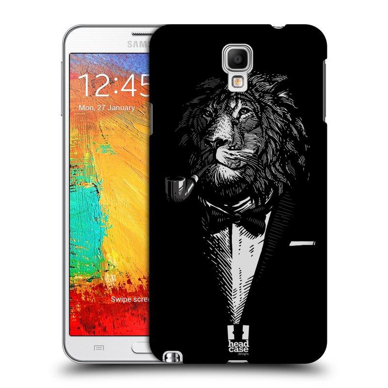 Plastové pouzdro na mobil Samsung Galaxy Note 3 Neo HEAD CASE LEV V KVÁDRU (Kryt či obal na mobilní telefon Samsung Galaxy Note 3 Neo SM-N7505)