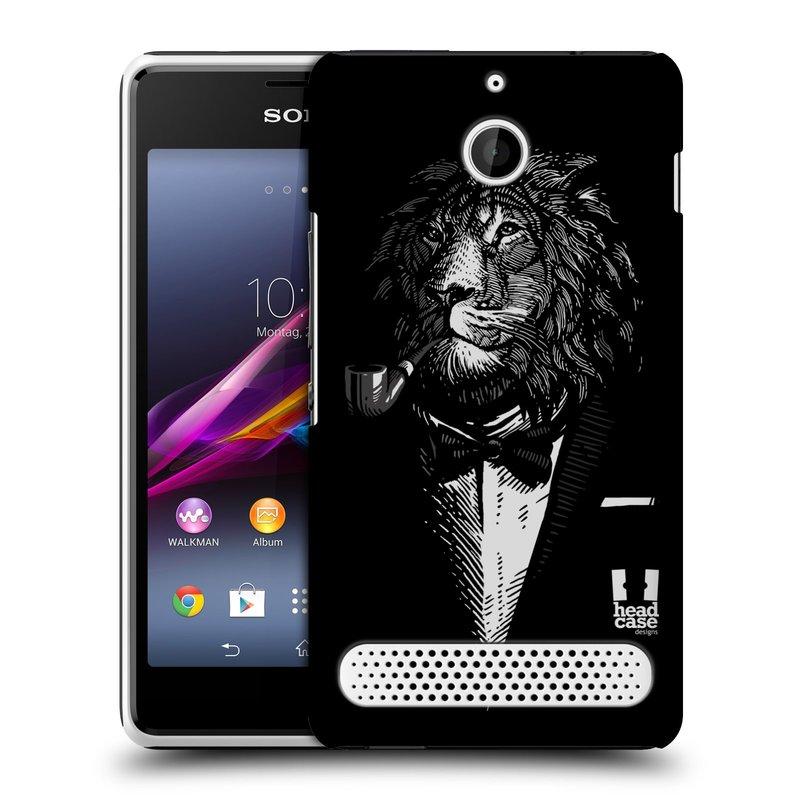 Plastové pouzdro na mobil Sony Xperia E1 D2005 HEAD CASE LEV V KVÁDRU (Kryt či obal na mobilní telefon Sony Xperia E1 a E1 Dual )