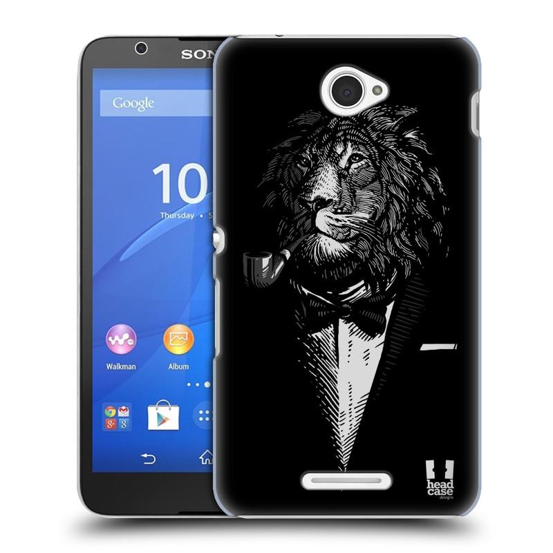 Plastové pouzdro na mobil Sony Xperia E4 E2105 HEAD CASE LEV V KVÁDRU (Kryt či obal na mobilní telefon Sony Xperia E4 a E4 Dual SIM)