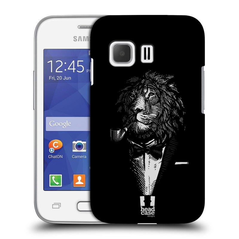 Plastové pouzdro na mobil Samsung Galaxy Young 2 HEAD CASE LEV V KVÁDRU (Kryt či obal na mobilní telefon Samsung Galaxy Young 2 SM-G130)