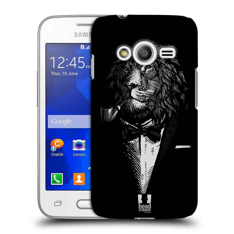Plastové pouzdro na mobil Samsung Galaxy Trend 2 Lite HEAD CASE LEV V KVÁDRU (Kryt či obal na mobilní telefon Samsung Galaxy Trend 2 Lite SM-G318)