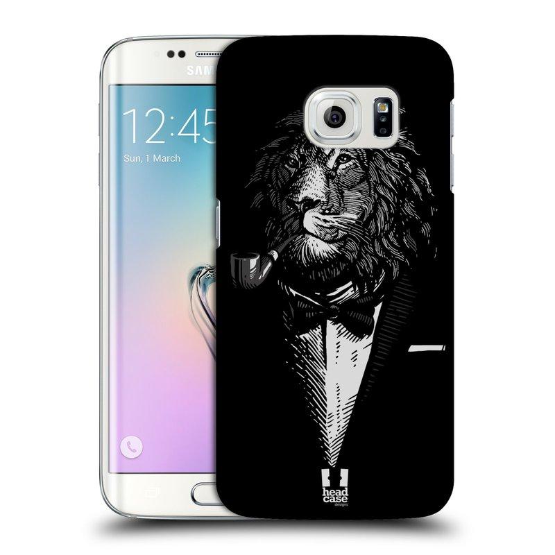 Plastové pouzdro na mobil Samsung Galaxy S6 Edge HEAD CASE LEV V KVÁDRU (Kryt či obal na mobilní telefon Samsung Galaxy S6 Edge SM-G925F)