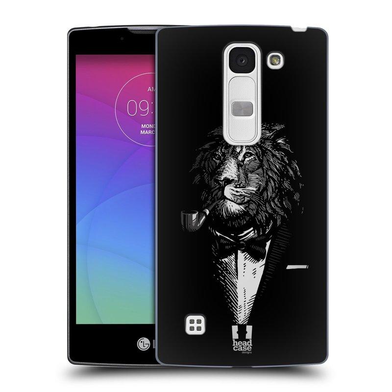 Plastové pouzdro na mobil LG Spirit LTE HEAD CASE LEV V KVÁDRU (Kryt či obal na mobilní telefon LG Spirit H420 a LG Spirit LTE H440N)