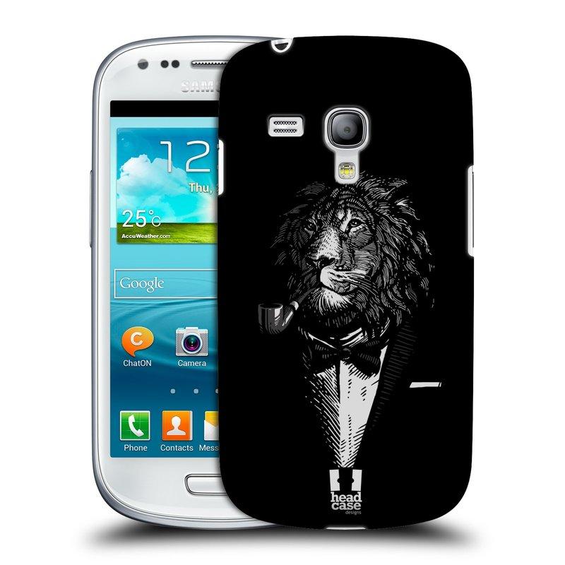 Plastové pouzdro na mobil Samsung Galaxy S III Mini HEAD CASE LEV V KVÁDRU (Kryt či obal na mobilní telefon Samsung Galaxy S III Mini GT-i8190)