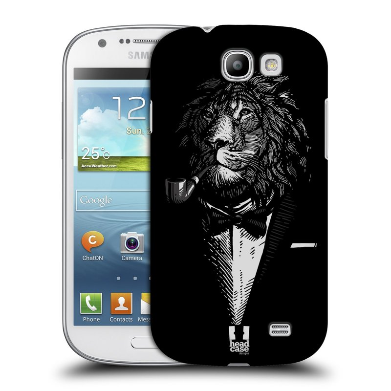 Plastové pouzdro na mobil Samsung Galaxy Express HEAD CASE LEV V KVÁDRU (Kryt či obal na mobilní telefon Samsung Galaxy Express GT-i8730)