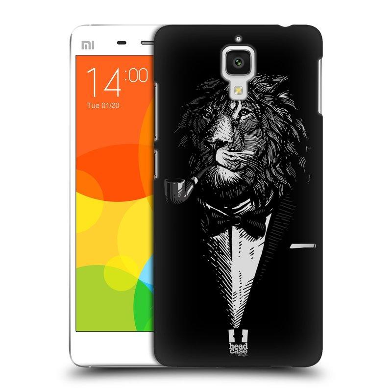 Plastové pouzdro na mobil Xiaomi Mi4 HEAD CASE LEV V KVÁDRU (Kryt či obal na mobilní telefon Xiaomi Mi4)