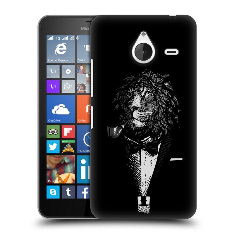 Plastové pouzdro na mobil Microsoft Lumia 640 XL HEAD CASE LEV V KVÁDRU (Kryt či obal na mobilní telefon Microsoft Lumia 640 XL)