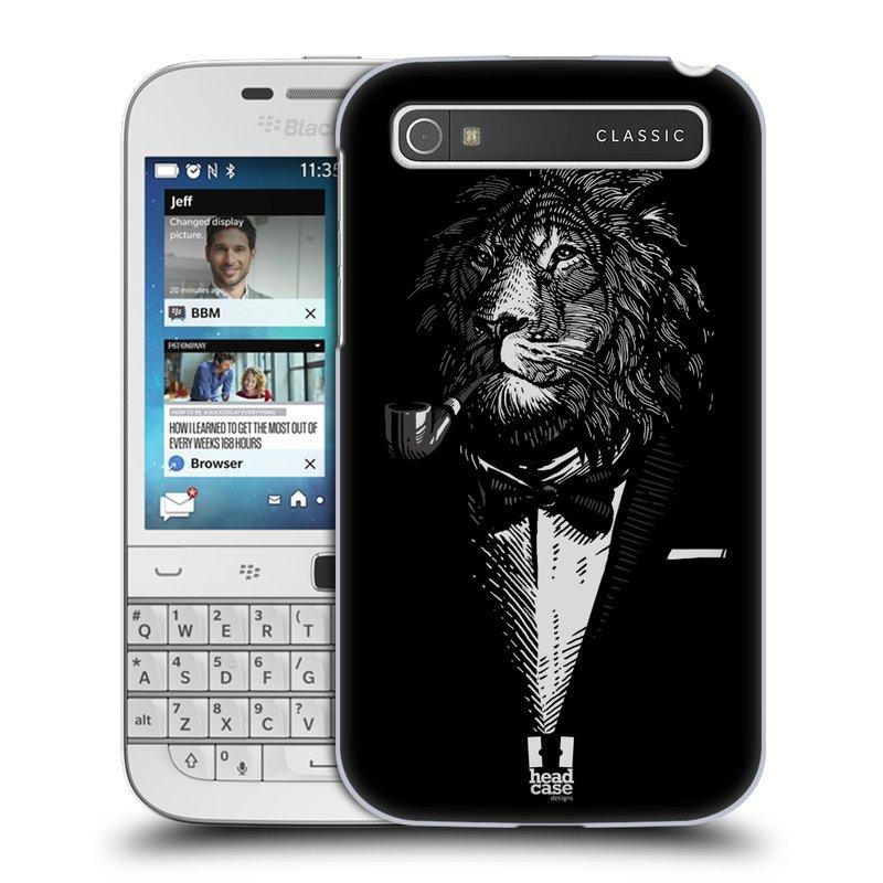 Plastové pouzdro na mobil Blackberry Classic HEAD CASE LEV V KVÁDRU (Kryt či obal na mobilní telefon Blackberry Classic)