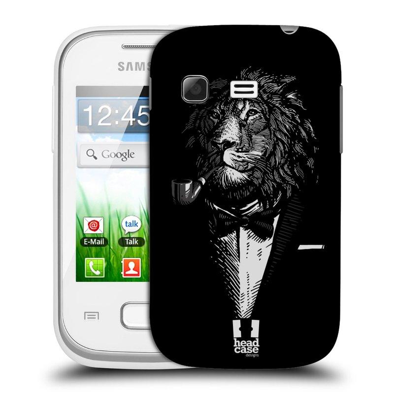 Plastové pouzdro na mobil Samsung Galaxy Pocket HEAD CASE LEV V KVÁDRU (Kryt či obal na mobilní telefon Samsung Galaxy Pocket GT-S5300)