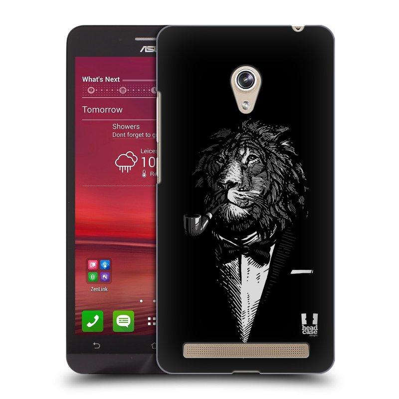 Plastové pouzdro na mobil Asus Zenfone 6 HEAD CASE LEV V KVÁDRU (Kryt či obal na mobilní telefon Asus Zenfone 6 A600CG / A601CG)