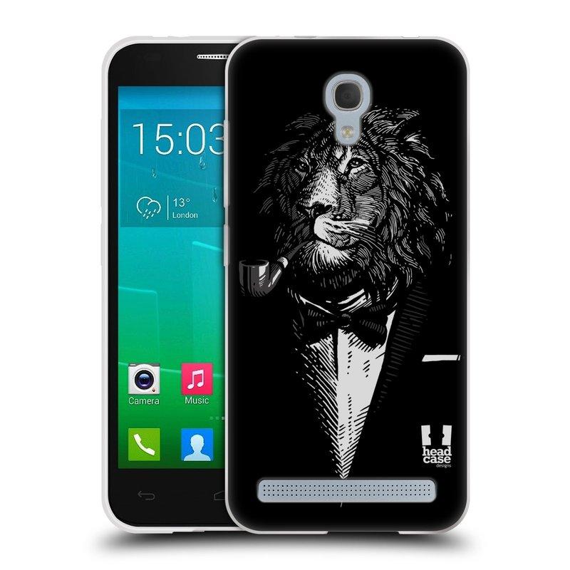 Silikonové pouzdro na mobil Alcatel One Touch Idol 2 Mini S 6036Y HEAD CASE LEV V KVÁDRU (Silikonový kryt či obal na mobilní telefon Alcatel Idol 2 Mini S OT-6036Y)