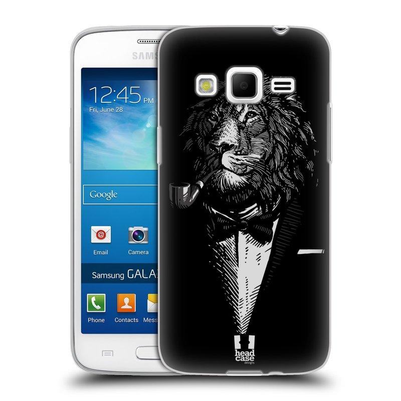 Silikonové pouzdro na mobil Samsung Galaxy Express 2 HEAD CASE LEV V KVÁDRU (Silikonový kryt či obal na mobilní telefon Samsung Galaxy Express 2 SM-G3815)