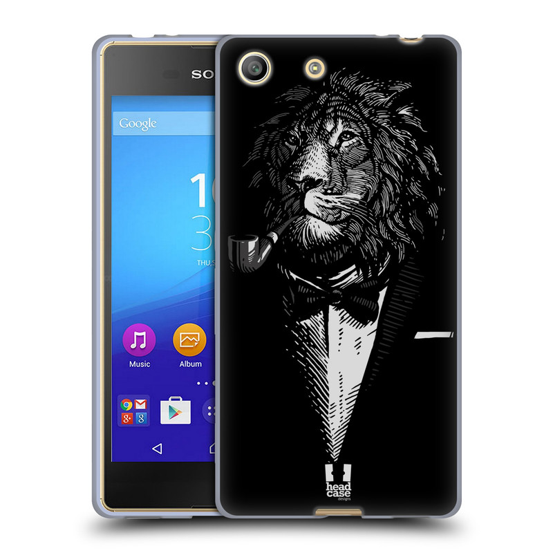 Silikonové pouzdro na mobil Sony Xperia M5 HEAD CASE LEV V KVÁDRU (Silikonový kryt či obal na mobilní telefon Sony Xperia M5 Dual SIM / Aqua)