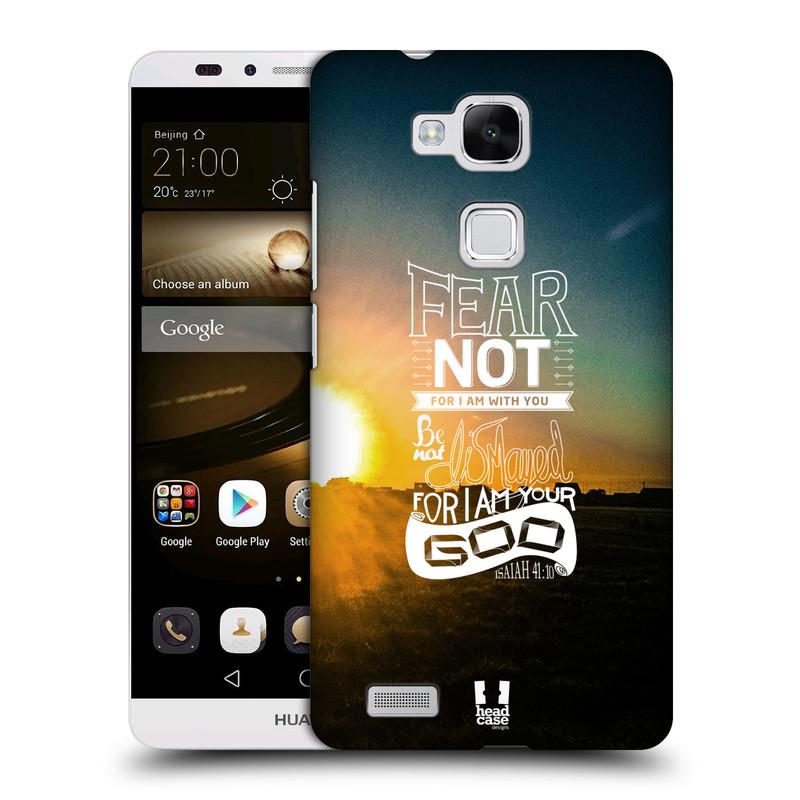 Plastové pouzdro na mobil Huawei Ascend Mate 7 HEAD CASE FEAR (Kryt či obal na mobilní telefon Huawei Ascend Mate7)