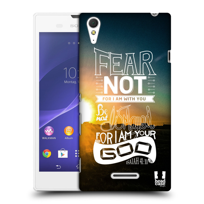 Plastové pouzdro na mobil Sony Xperia T3 D5103 HEAD CASE FEAR (Kryt či obal na mobilní telefon Sony Xperia T3 )