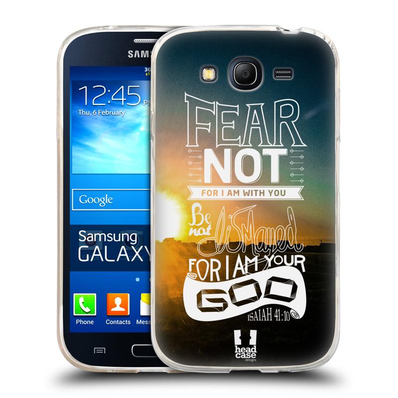 Silikonové pouzdro na mobil Samsung Galaxy Grand Neo Plus HEAD CASE FEAR (Silikonový kryt či obal na mobilní telefon Samsung Galaxy Grand Neo Plus Duos GT-I9060i)