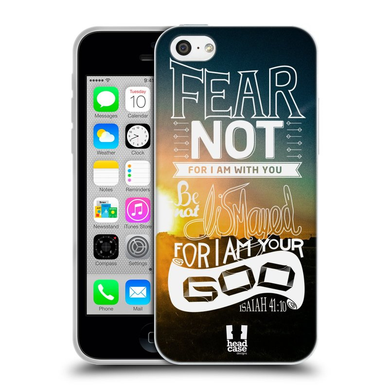 Silikonové pouzdro na mobil Apple iPhone 5C HEAD CASE FEAR (Silikonový kryt či obal na mobilní telefon Apple iPhone 5C)